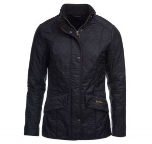 Barbour Cavalry Polarquilt Black