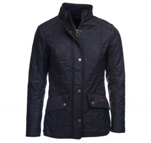 Barbour Cavalry Polarquilt Navy