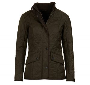 Barbour Cavalry Polarquilt Olive