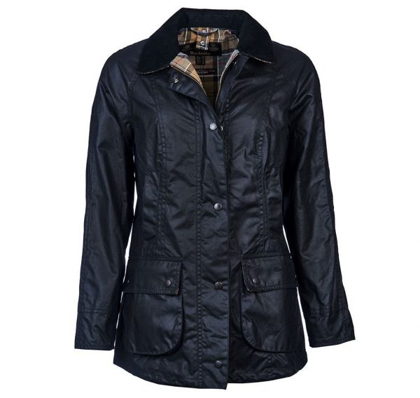 Barbour Ladies Beadnell Navy