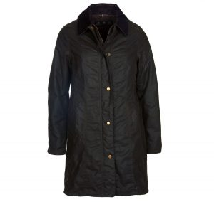 Barbour Ladies Belsay Jacket Olive