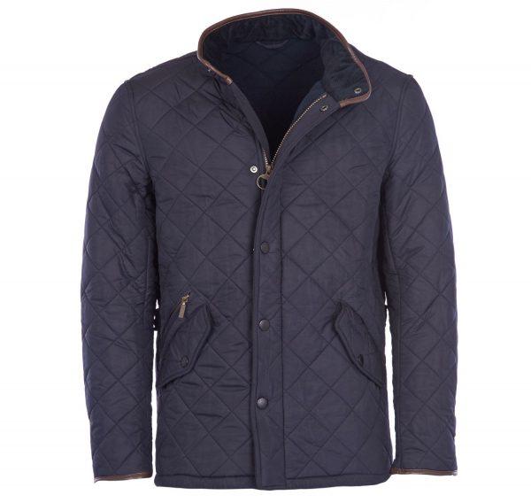 Barbour Powell Quilt Jacket Navy