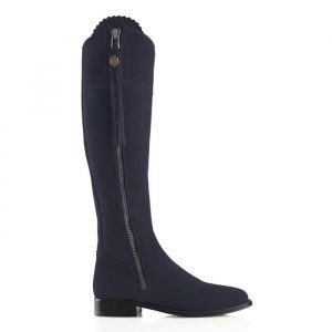 Fairfax And Favor Regina Suede Boot Navy