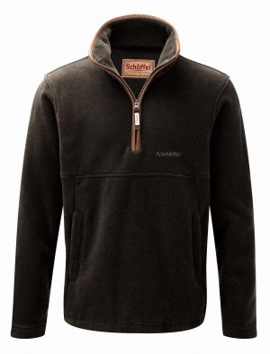Schoffel Berkeley 1/4 Zip Fleece Dark Olive