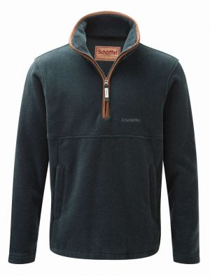 Schoffel Berkeley 1/4 Zip Fleece Kingfisher