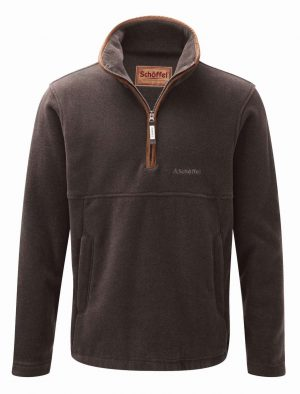 Schoffel Berkeley 1/4 Zip Fleece Mocha