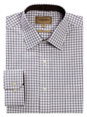 Schoffel Cambridge Shirt Espresso