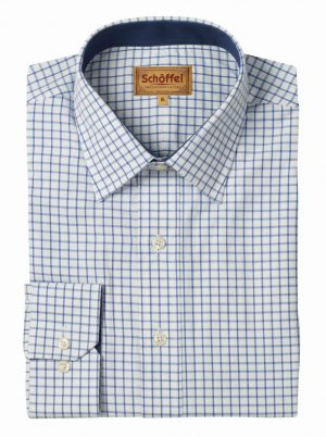 Schoffel Cambridge Shirt Navy