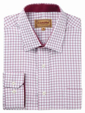 Schoffel Cambridge Shirt Raspberry