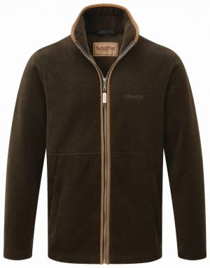 Schoffel Cottesmore Fleece Jacket Dark Olive