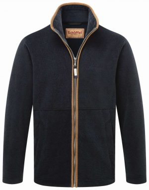 Schoffel Cottesmore Fleece Jacket Navy