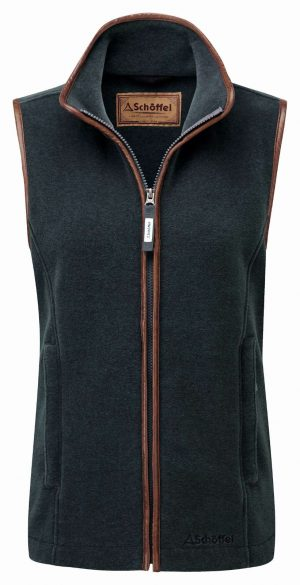 Schoffel Lyndon Ii Fleece Gilet Kingfisher