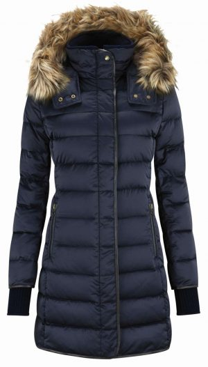 Schoffel Mayfair Down Coat Navy