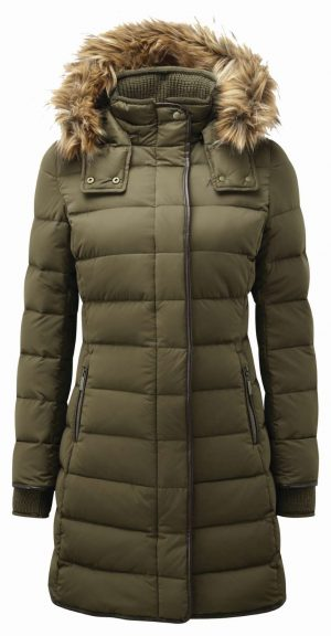Schoffel Mayfair Down Coat Olive
