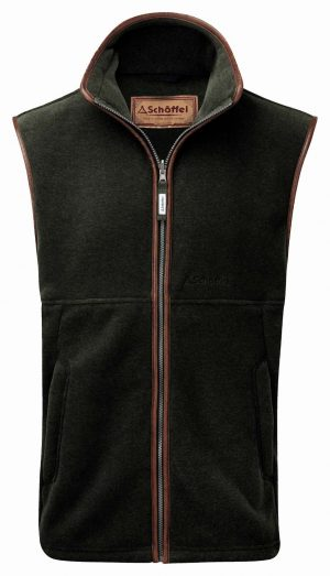 Schoffel Oakham Fleece Gilet Forest