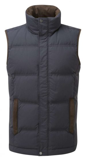 Schoffel Twickenham Down Gilet Navy